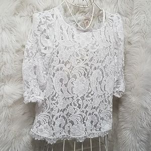 Sundance lace top